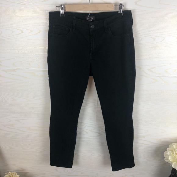 NYDJ Denim - NYDJ Black Alina Convertible Ankle Jeans
